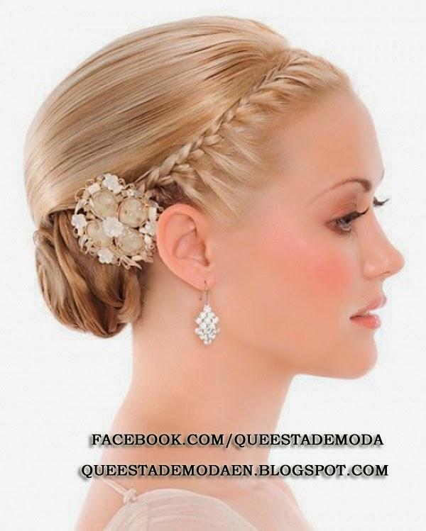 Peinados Actuales Para Bodas - Recogidos para invitadas de boda Fotos de los mejores looks (Foto