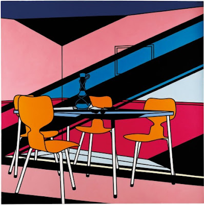 Cafe Interior: Afternoon. 1973