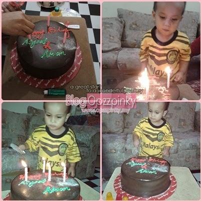 Happy Birthday Muhd Asyraf Firdaus 2 Tahun