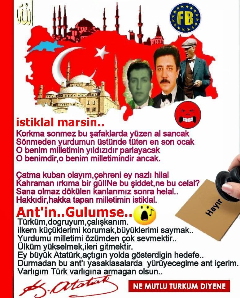 istiklal marşımız,and'ımız..Buket Turkay secretaryship