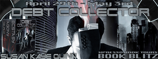 GIVEAWAY AND EXCERPT: Debt Collector by Susan Kaye Quinn