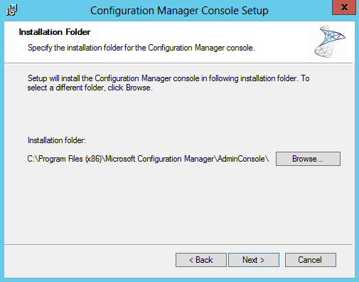 how to open configuration manager console