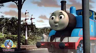 Steam train Thomas tank gains knowledge of locomotive engines transported by ship to Sodor Island