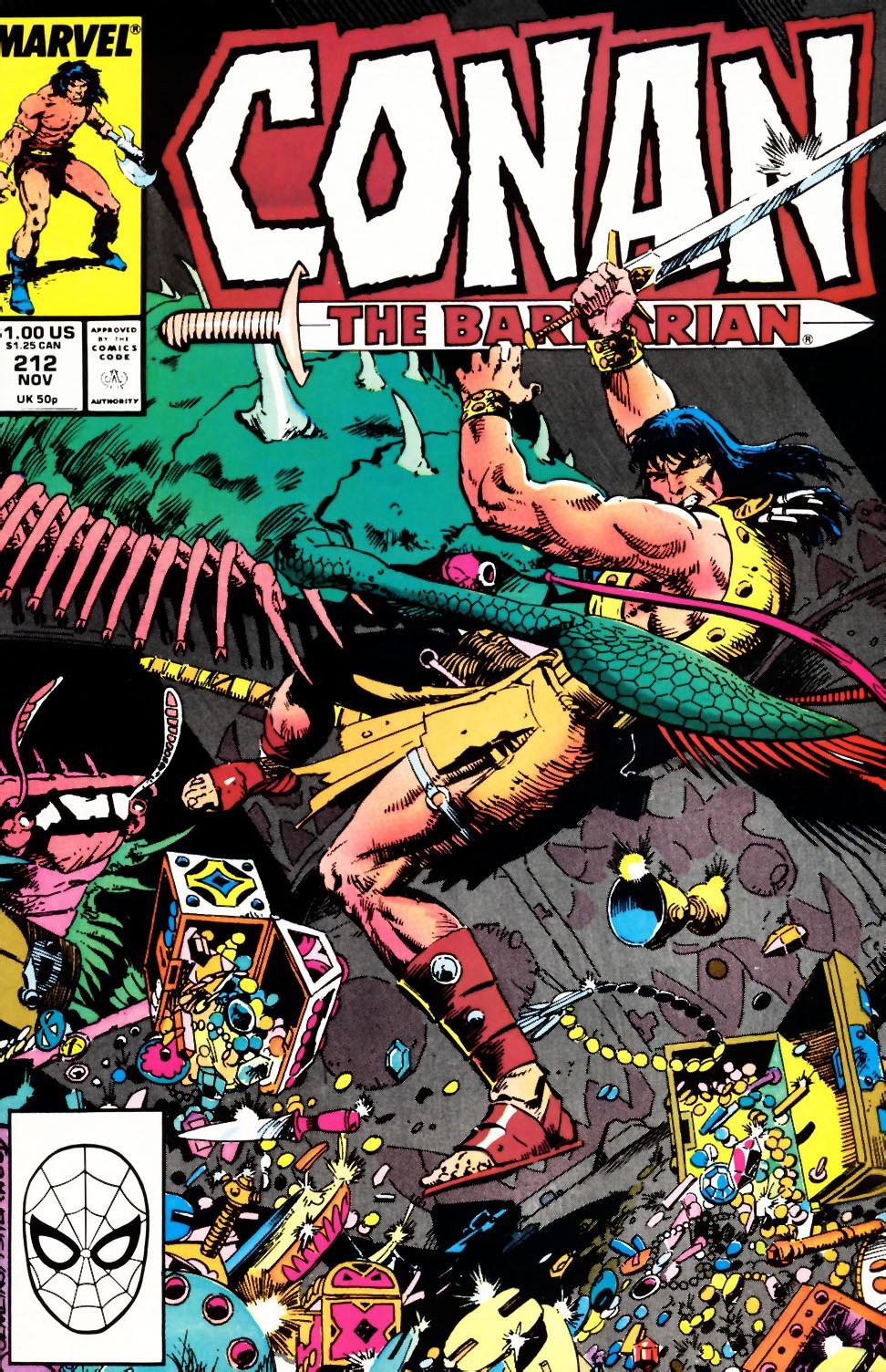 Conan the Barbarian (1970) Issue #212 #224 - English 1