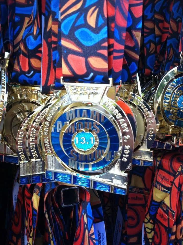 Maratón Miami Medalla 21k