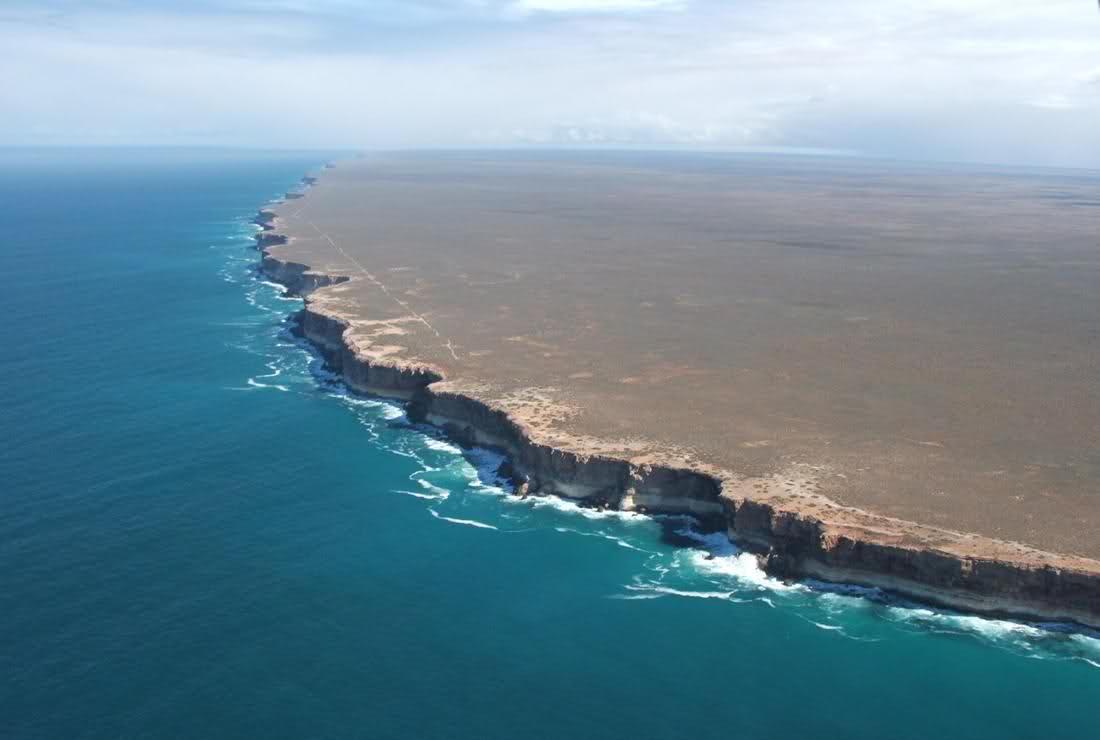 Image result for coastluine great australian bight