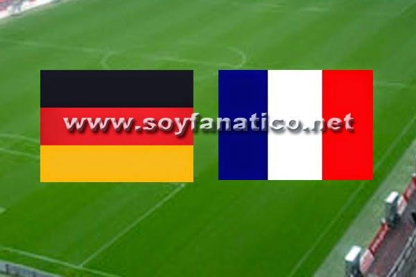 Alemania vs Francia Cuartos de Final Mundial 2014