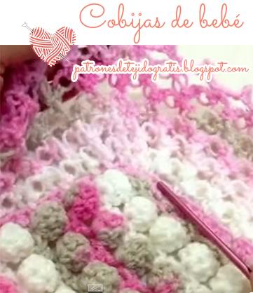 Cómo tejer mantillas para bebes
