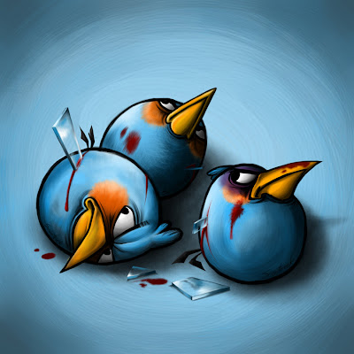 die twitter bird