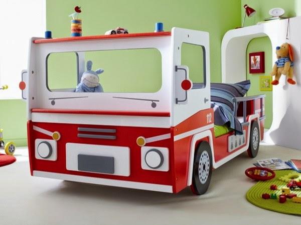 Decoração Quarto-Cama Carro - cama infantil menino-papel de parede-quarto infantil-cama infantil-decoração infantil-cama infantil carro-Baby beds