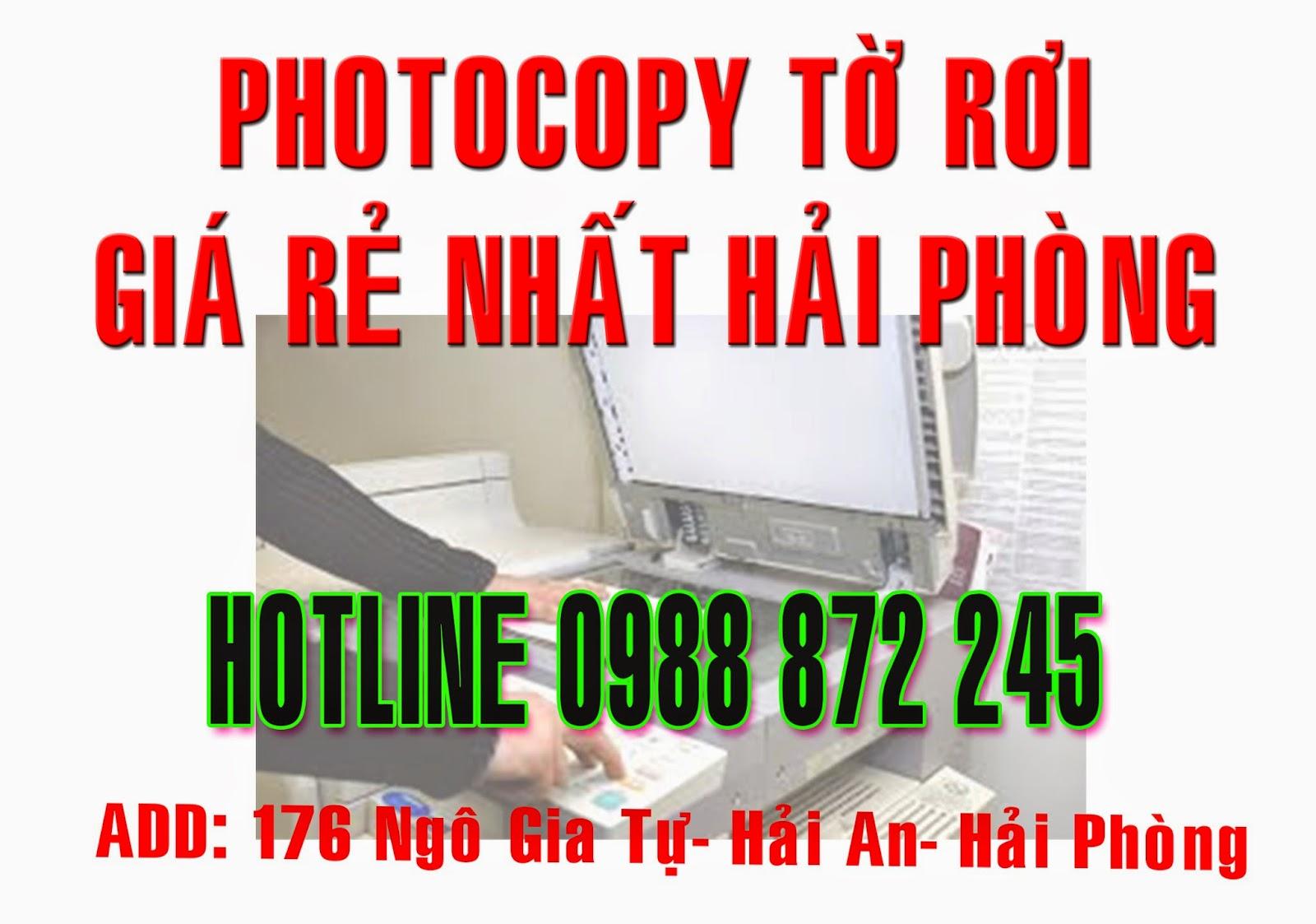 Photocopy gia Hai Phong