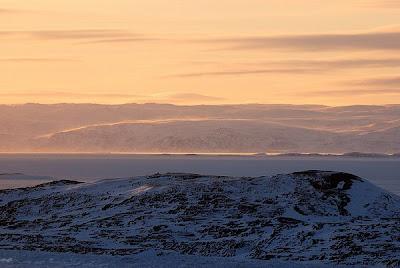 Paisaje de la tundra