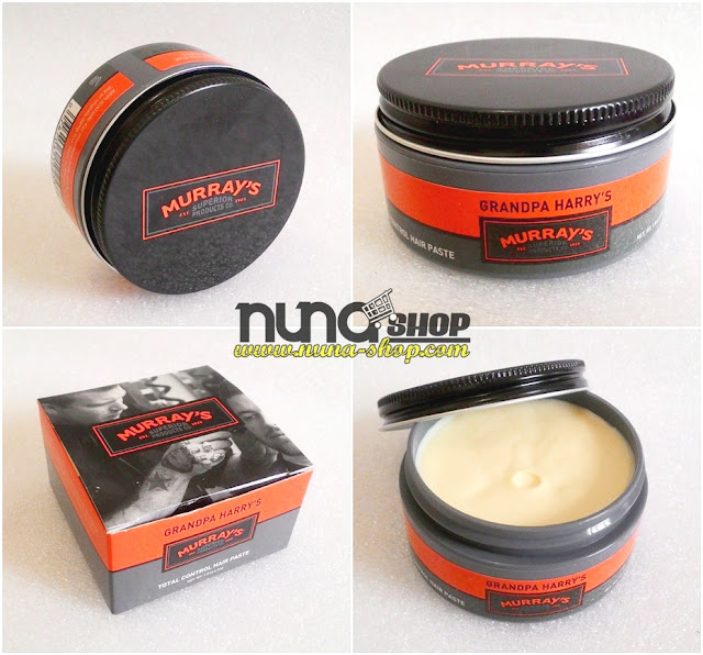New Murray's Grandpa Harry's Total Control Hair Paste Type  Waterbased Hold