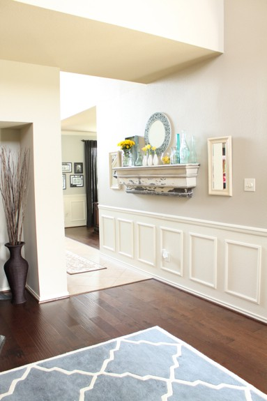 my love affair with wainscoting