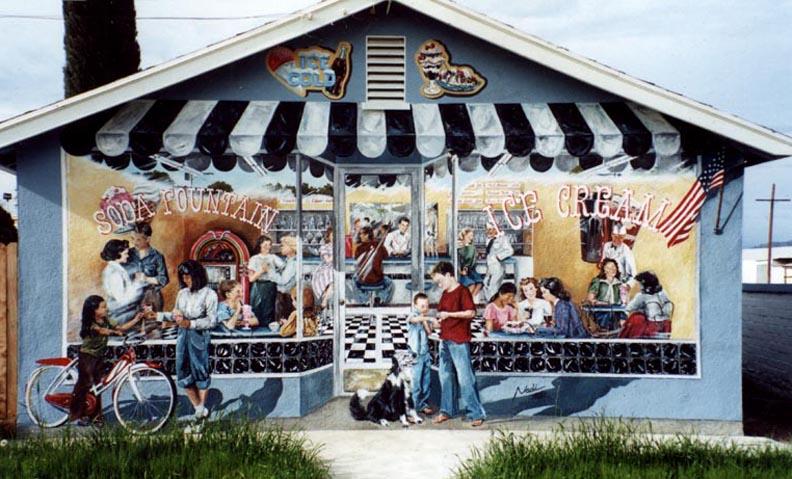 Soda Shop, Lindsay, CA 1999