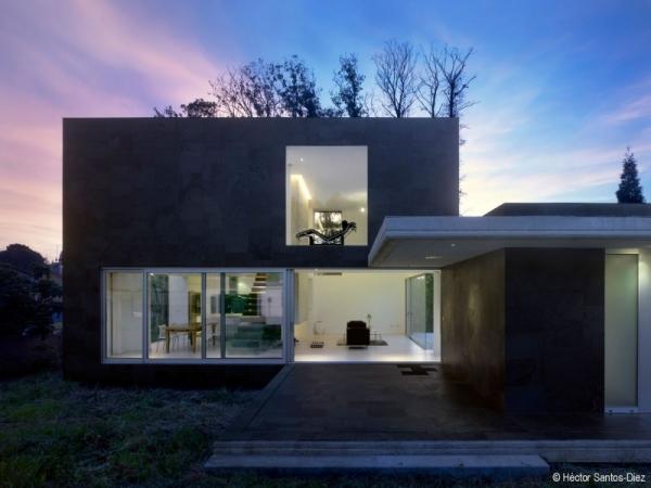 Casa moderna en espa a todo sobre fachadas - Casas modernas madrid ...