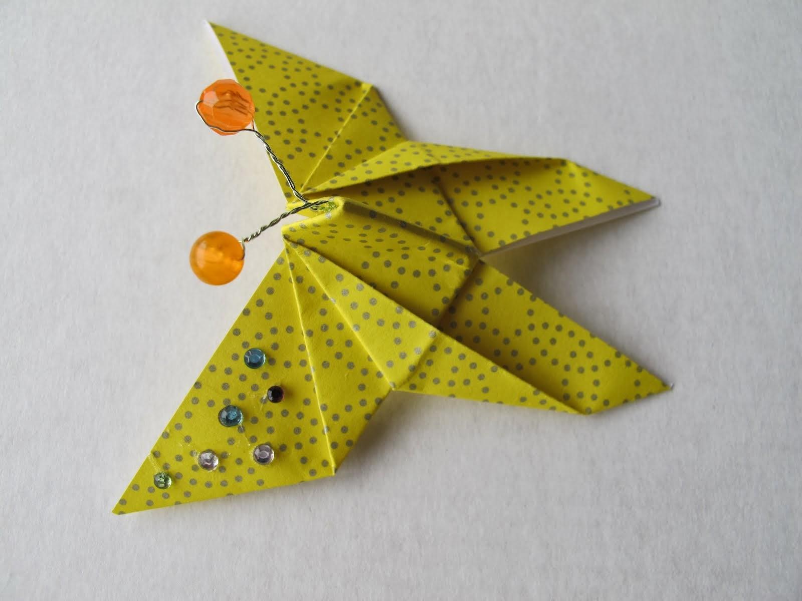 Borboleta em origami