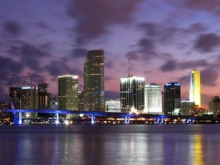 Fort Lauderdale Skyline Night