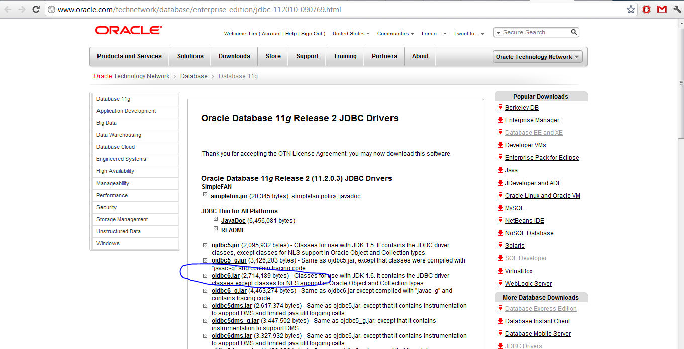 Download Oracle Jdbc Driver Jar