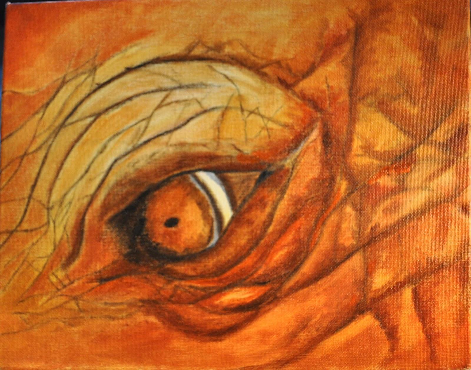 Elephant Eyes Painting