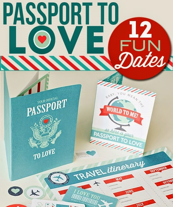 12 months of fun dates with a passport to love