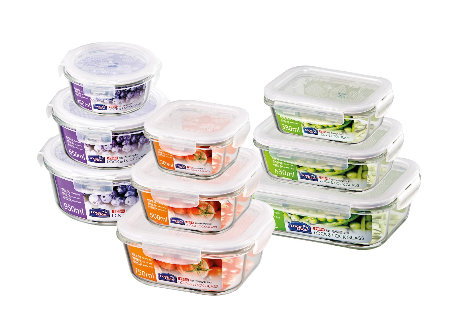 Lock Lock Introduces Glass Containers Ceramic Coated Pans