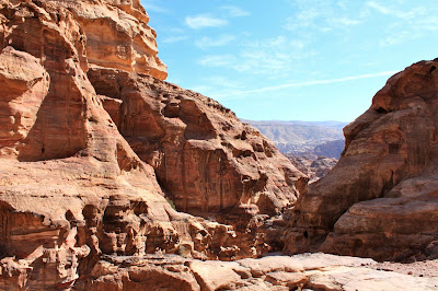 Climb to the Monastery - Petra