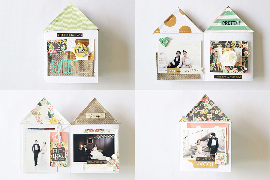 Sweet Home mini Album by Eunyoung Lee for Mei Li Paperie