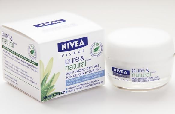 NIVEA Pure & Natural Moisturizing Cream, Rangkaian Proudk NIVEA Pure & Natural, NIVEA Pure & Natural, NIVEA