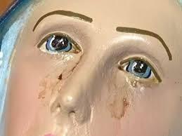 Santa que chora