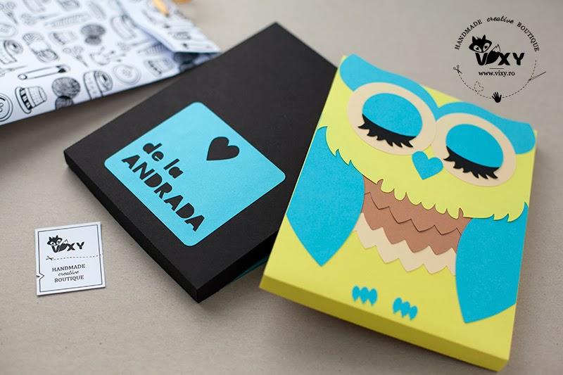 cutie husa kindle, cutie bufnita, cutie personalizata, cutie book rider, cutie nook, cutie ipad, cutie tableta