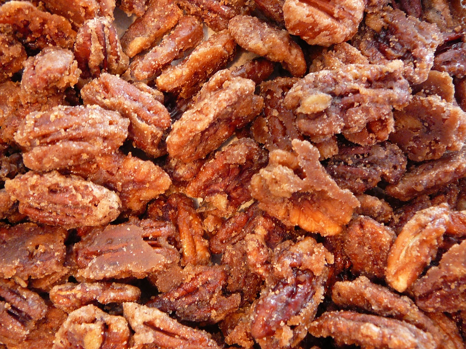 Candied Pecans Spicy glazed candied pecans — recipes hubs