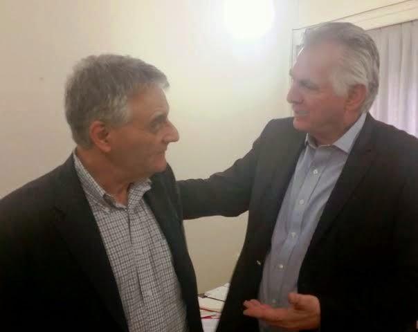 Συνάντηση του Δημάρχου Περιστερίου Α. Παχατουρίδη με τον Γεν. Γραμματέα του Υπ. Εσωτερικών Κ. Πουλάκη