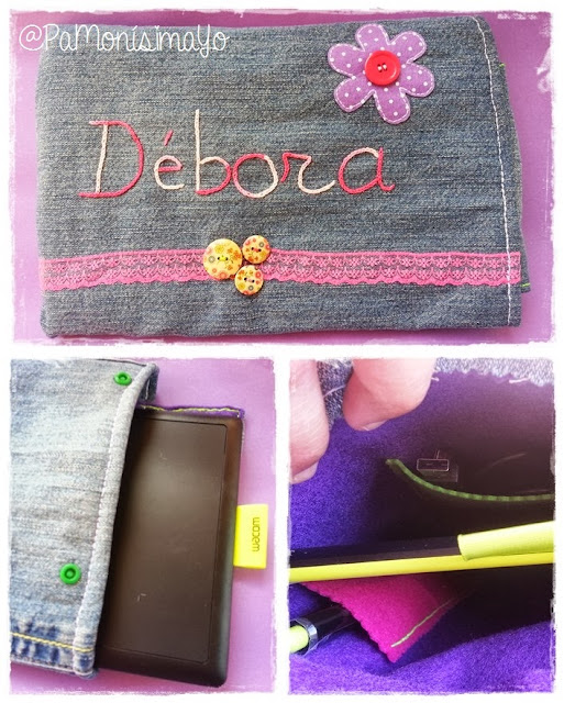 Funda para tablet digitalizadora