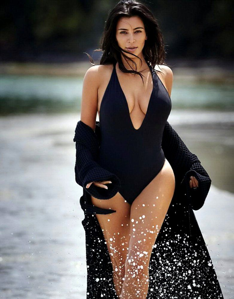 Kim Kardashian at Editorialist Magazine - Photo Kim Kardashian 2016