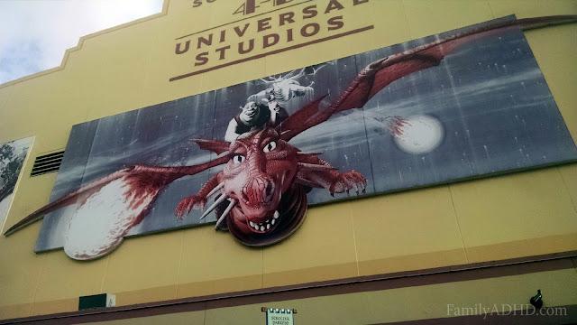 Universal Studios Florida Family Travel Guide Shrek 4D
