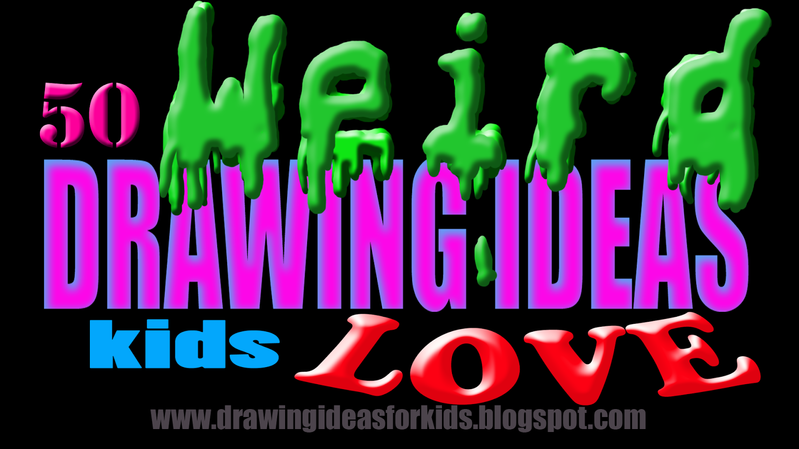 Drawing Ideas For Kids 167 Weird Drawing Ideas Students Love