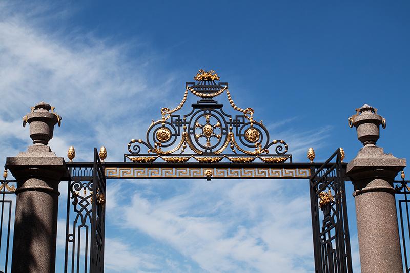 city Санкт-Петербург ворота