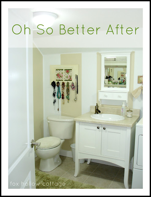 DIY Budget Bathroom Makeover