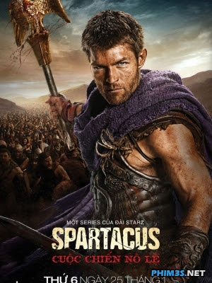 Cuộc Chiến Nô Lệ-Spartacus 3: War of the Damned