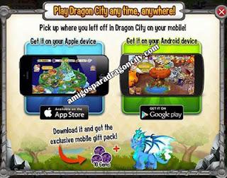 ya sea dragon city ios o dragon city android te regalaran 10 gemas