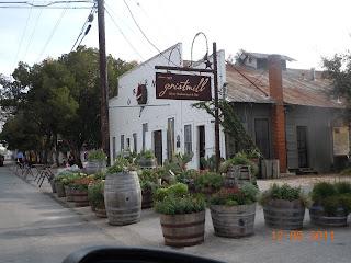 gristmill restaurant in gruene texas