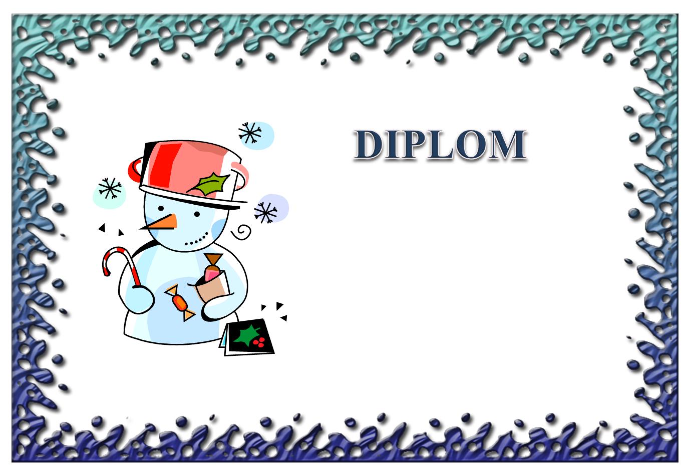 Diplom zimní 1