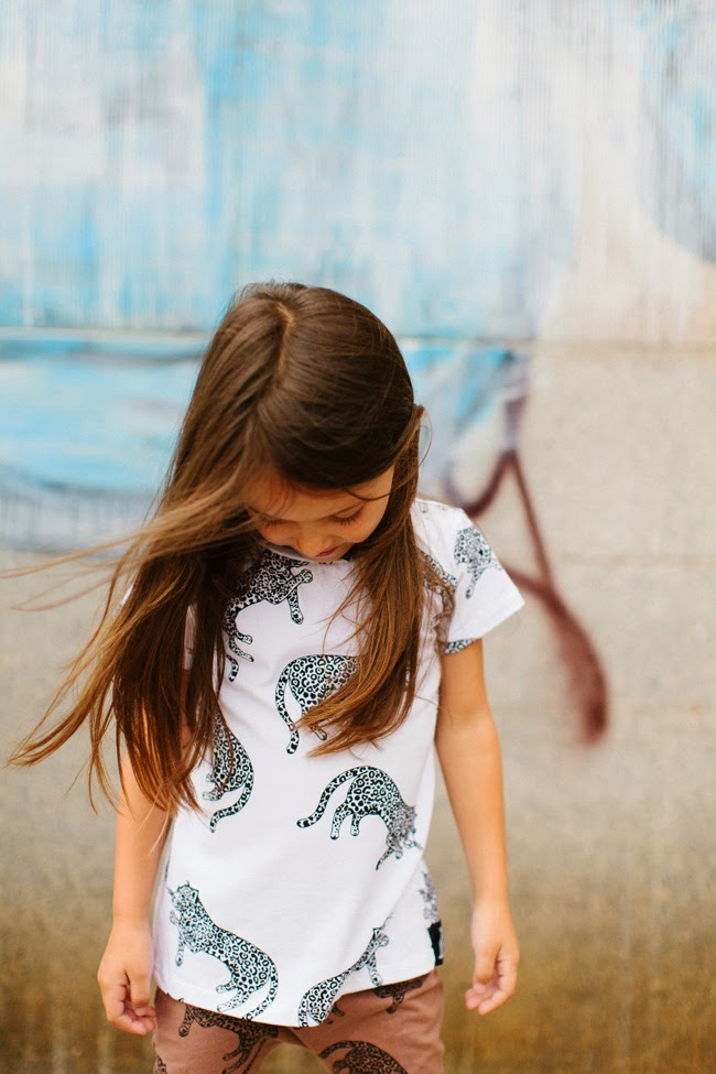 Quinn & Fox - kids leopard tee and pants