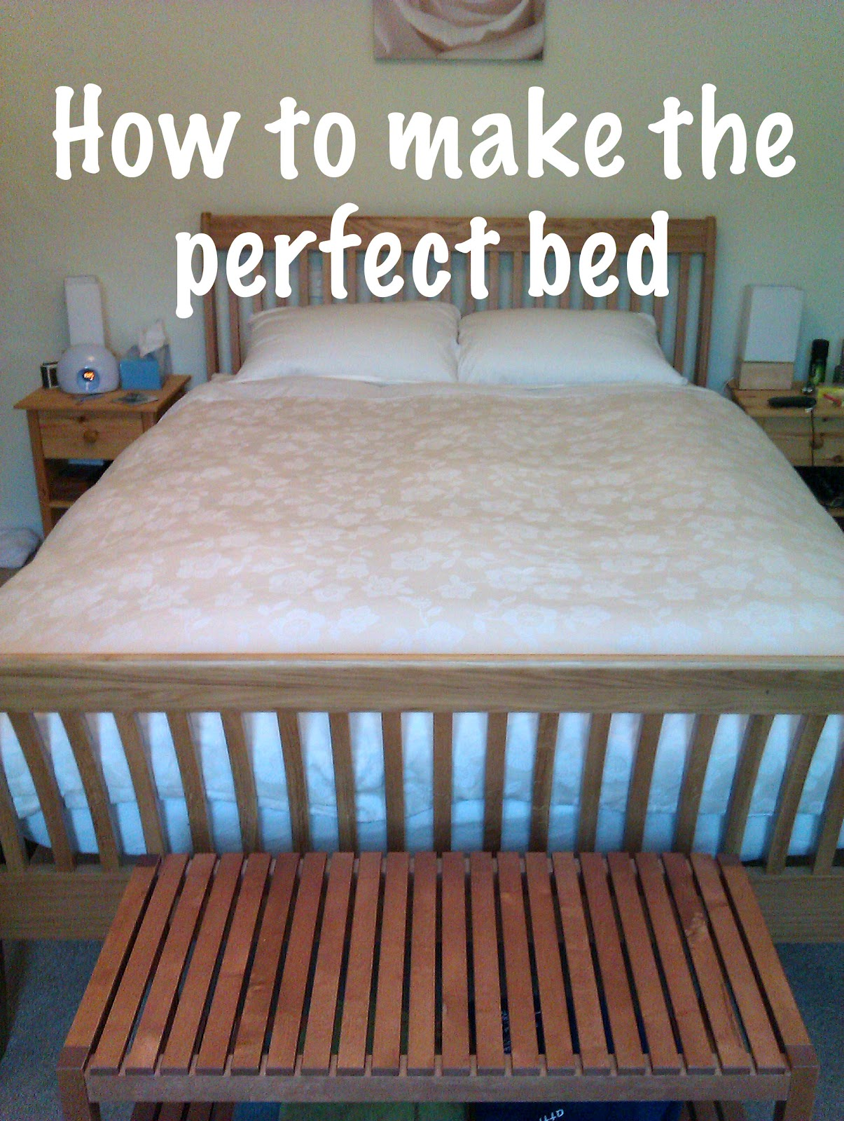 Pass The Caffeine How To Make Your Bed Perfectly Every Time