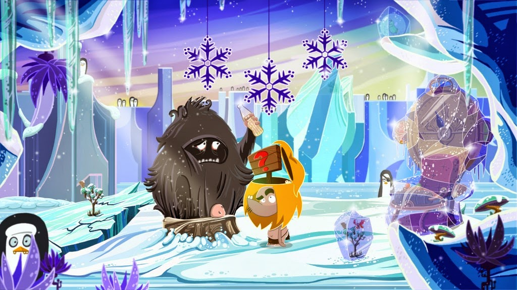 Fire game screenshot Daedelic Entertainment Ungh Snow