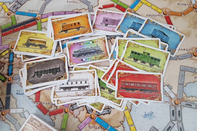 Ticket To Ride review family board game age 8+