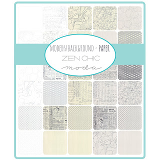 Moda MODERN BACKGROUND PAPER Fabric by Zen Chic for Moda Fabrics