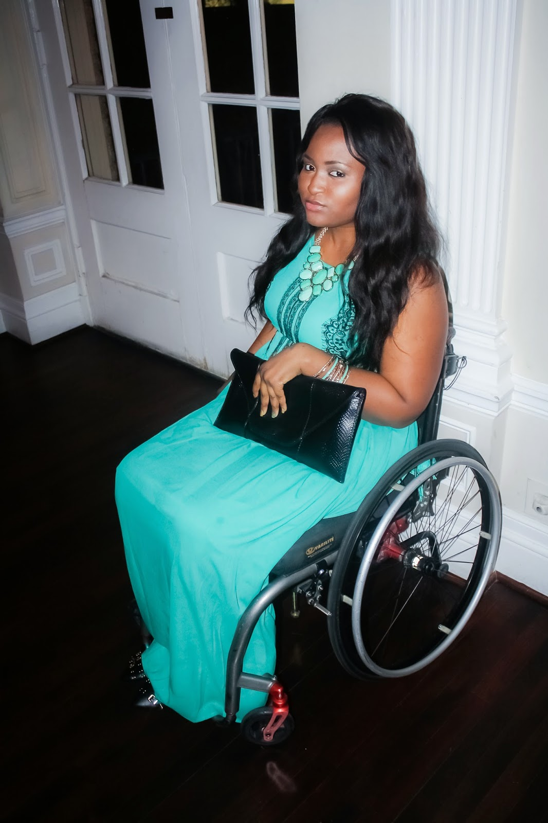 The Do It Yourself Lady: Wheelchair Fashion: Wedding Guest OOTD/LOTD