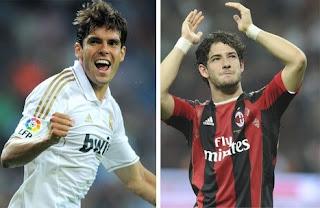 El PSG hará una millonaria oferta por Kaká y Pato